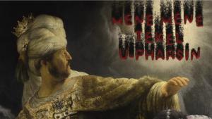 """Screenshot aus dem Film """"Belsazar"""" zur Ballade von Robert Schumann, 2014 von Martin Kreyßig und Marc Wiebach"""