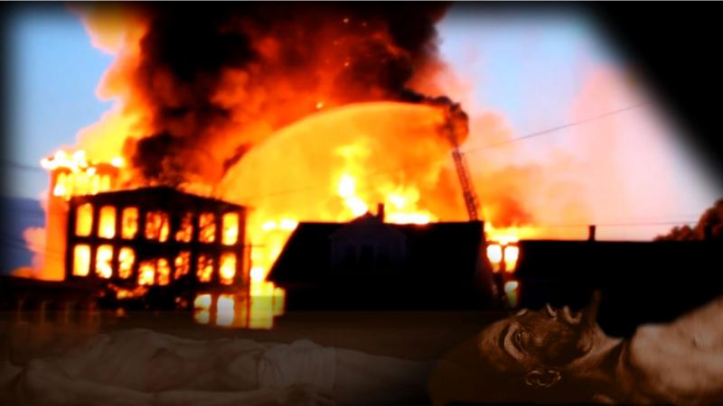 """Screenshot aus dem Film """"Feuerreiter"""" zur Ballade von Hugo Wolf, 2014 von Martin Kreyßig"""