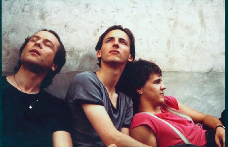 The Band (v.li.n.re.): Axel Klepsch, Martin Kreyßig, Axel Lischke, 1982