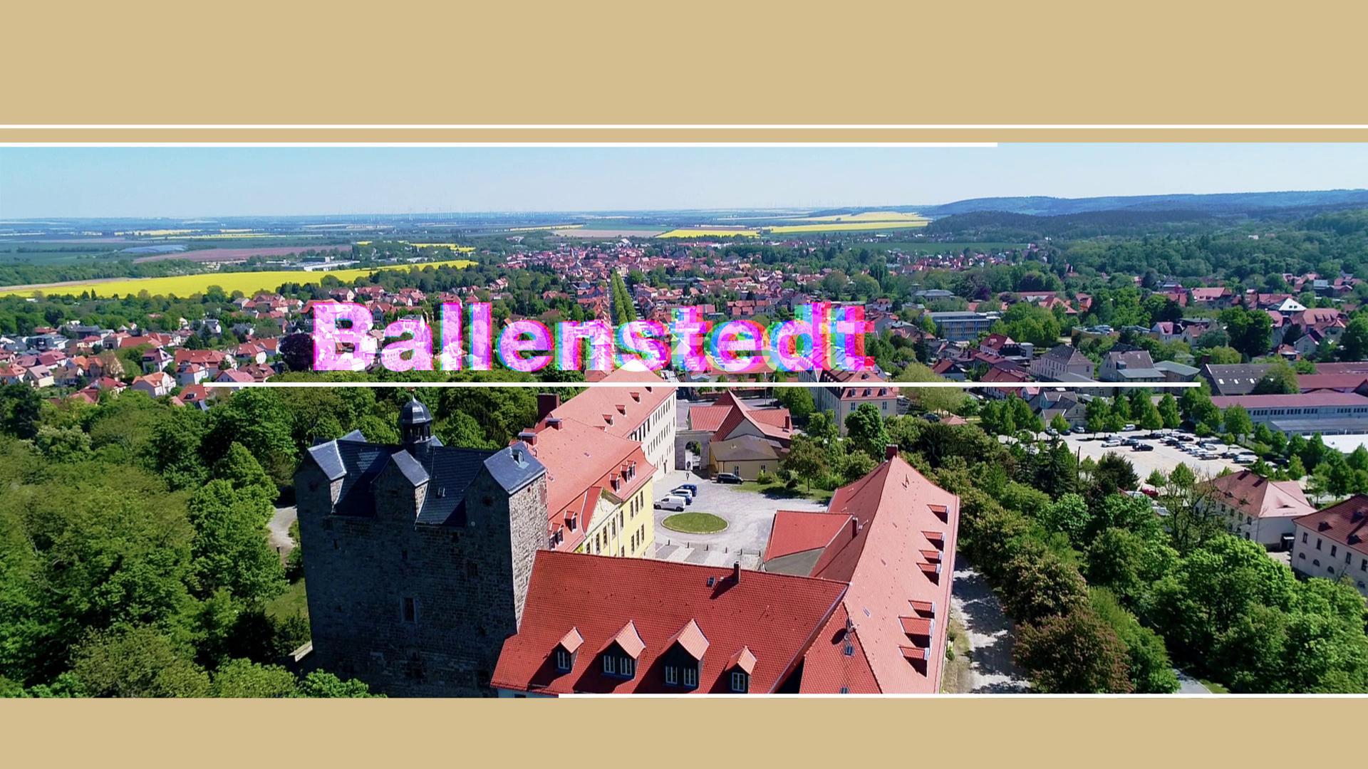 Imagefilm Ballenstedt 2018 / © Stadt Ballenstedt / Martin Kreyßig