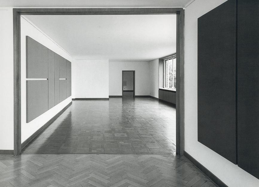 Alan Charlton, Ausstellungsansicht Haus Esters, Krefeld