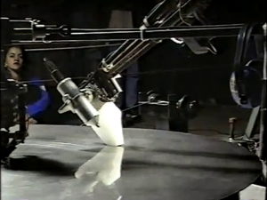 I-BEAM MUSIC / Nicolas A. Baginsky / Barry Schwarz / Kampnagel, Hamburg / 1995 / Videodokumentation Martin Kreyssig