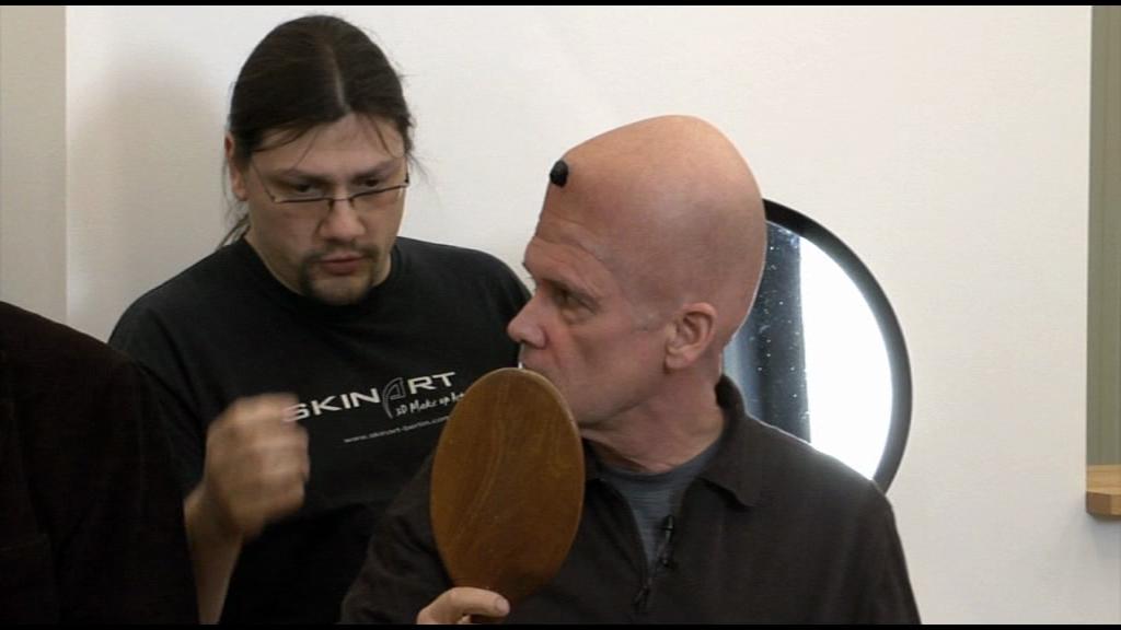 Zeremonie für ein Double, Das dritte Auge, Gustav Kluge / Videodokumentation Martin Kreyßig