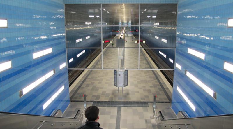 U-Bahn Hafencity Hamburg 2013, Foto: Wolfgang Hambrecht