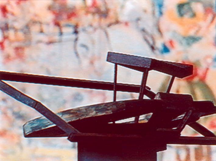 Standbild aus dem Film zur Ausstellung von Klaus Kumrow / Film von Martin Kreyssig