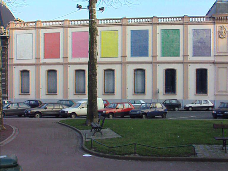 Michelangelo Pistoletto, LE DIAPHANE, Tourcoing / Lille, Videoessay, 1993, Martin Kreyssig