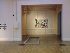 Ausstellungsansicht, LE DIAPHANE, Tourcoing / Lille, Videoessay, 1993, Martin Kreyssig