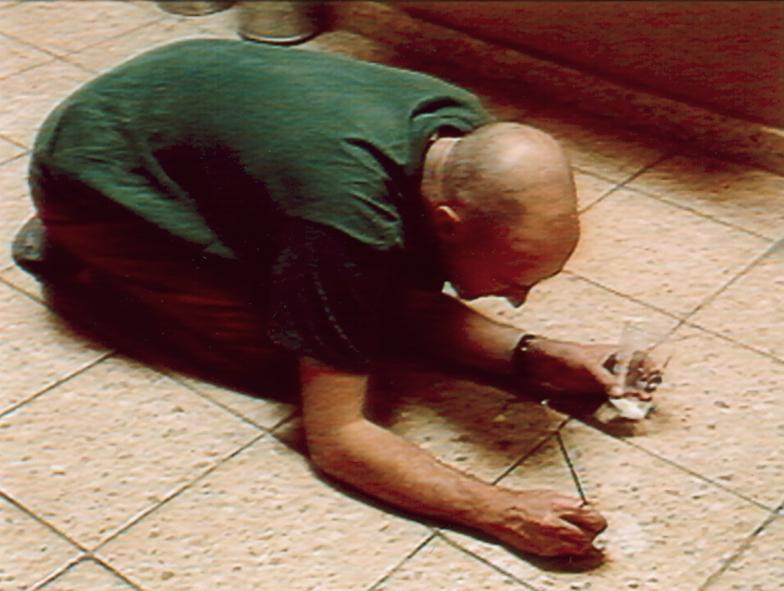 Standbild aus dem Film von Martin Kreyssig zu einem Werk von Antoni Malinowski