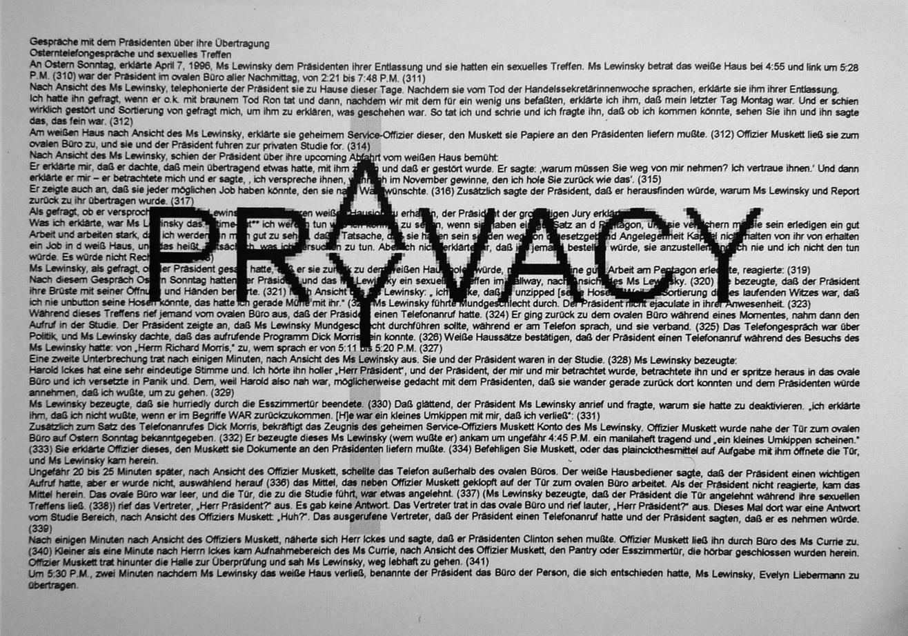 Prayvacy, MMK 1999, Martin Kreyssig