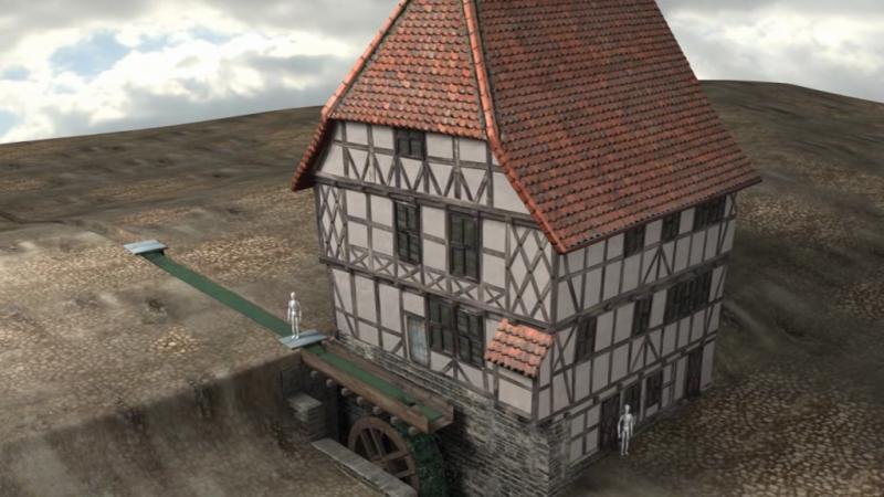 3D-Haus, Imagefilm Museum Schiefes Haus Wernigerode, 3D-Modell: Meike Müller, Oliver Szymkowiak