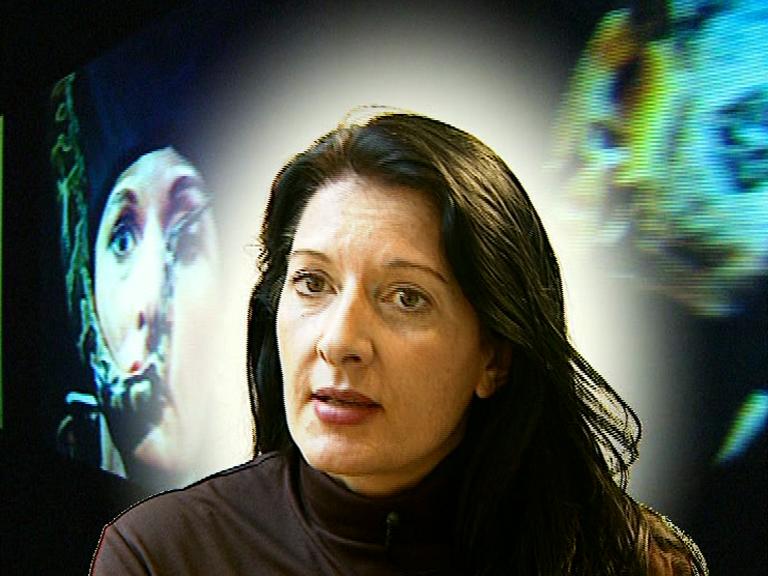Marina Abramovic / Kunstverein Hannover / 2000 / TV-Beitrag ARTE / 3:00 min / Martin Kreyßig