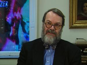 Nam June Paik / Kunsthalle Bremen / Interview Dr. Wulf Herzogenrath / 1999 / TV-Beitrag ARTE / 3:00 min / Martin Kreyßig